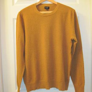 J. Crew Men's Cotton-Cashmere Pique Sweater
